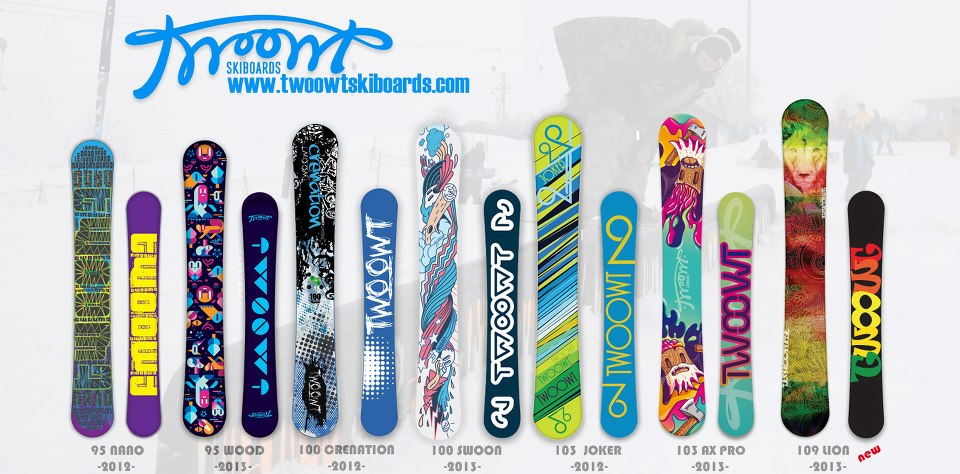 2012-2013 TwoowT Skiboards