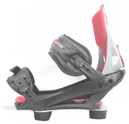 Board Factory PH-710 Snowboard Bindings plus Risers