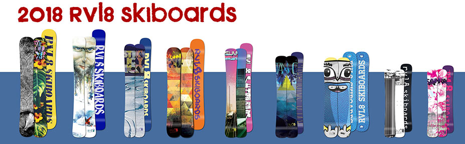 2018 RVL8 Skiboards